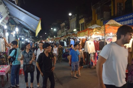 Night Market Old Quarter
