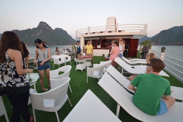 Halong Bay Cruise evening party