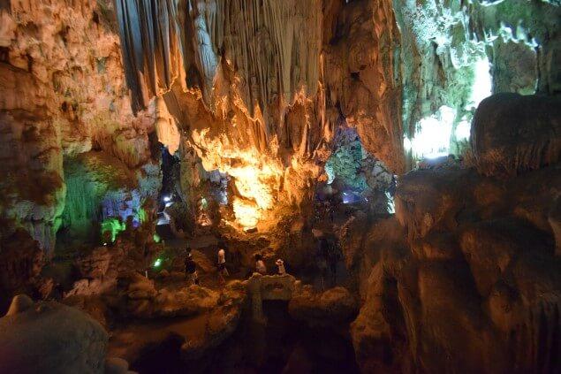 Halong Bay cave pic
