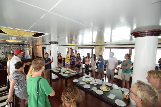halong bay cooking class