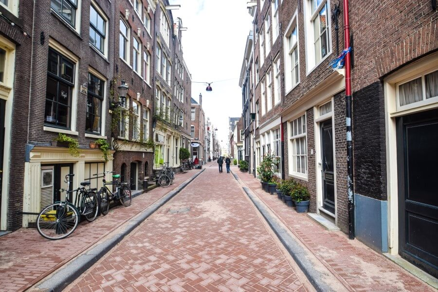 Beautiful Streets Jordaan Amsterdam