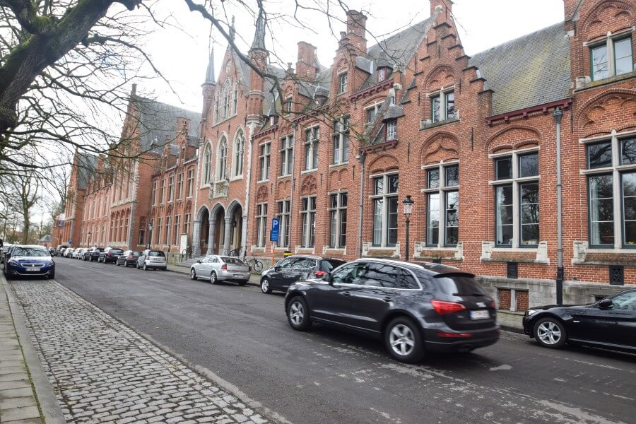 Brugge Photo Journey Cobbled street