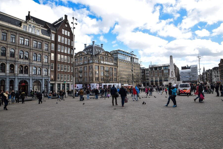 Dam Square Amsterdam Photo Journey