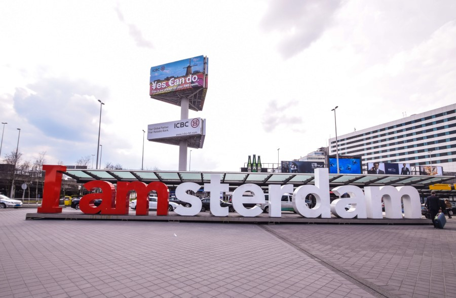Iamsterdam Sign Airport