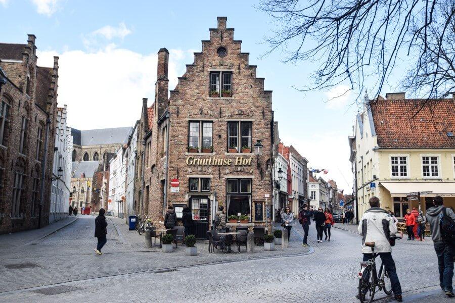 Old Houses Brugge