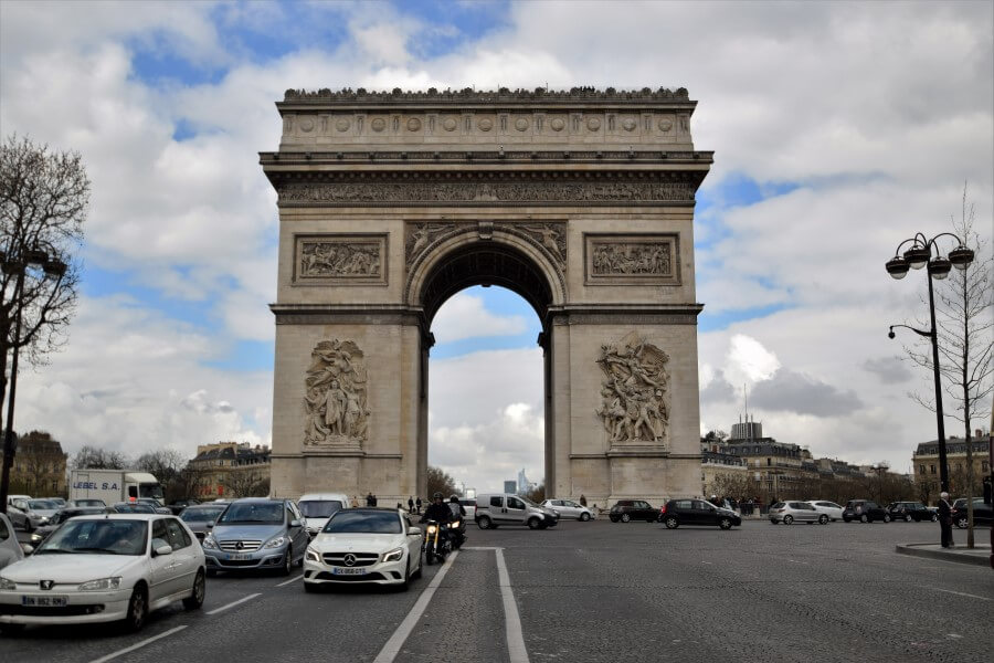 Arc de Triomphe historical monument