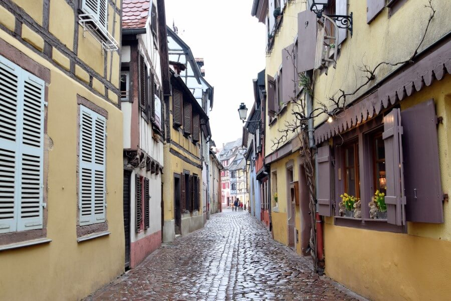 Beautiful Streets in Colmar