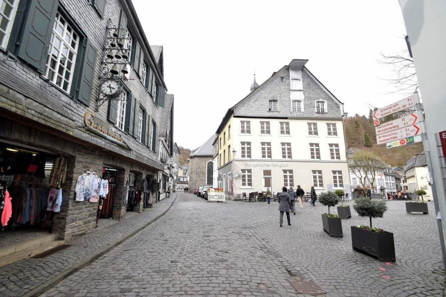 Cloth Shops Monschau