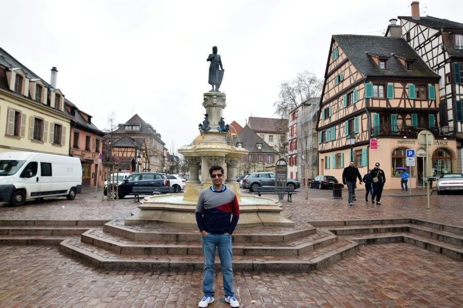 Fountain Colmar