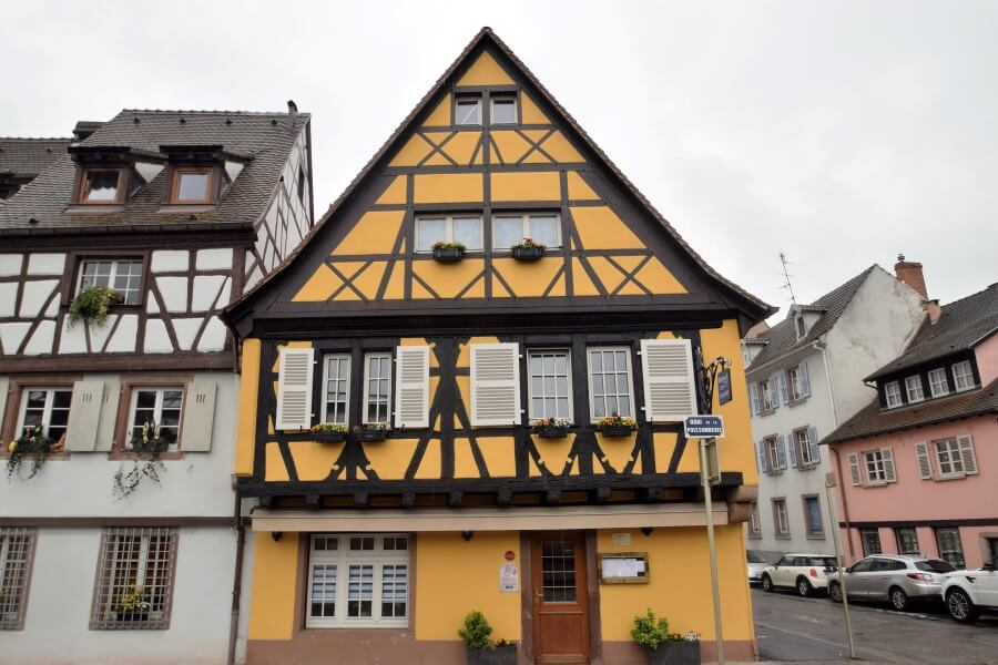Half Timbered houses colmar