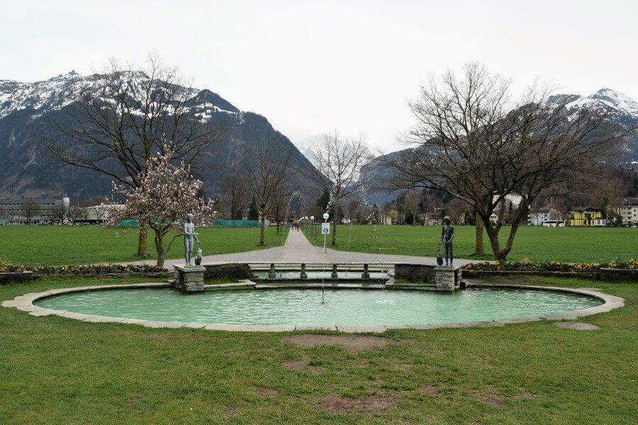 Impressive mountain scenery Interlaken Photo Journey