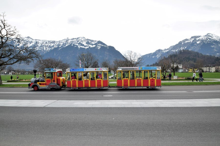 Interlaken City tour mini train