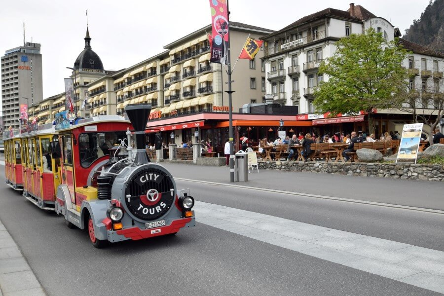 Interlaken City tour train