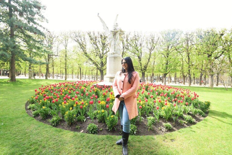 Luxembourg Garden tulip garden