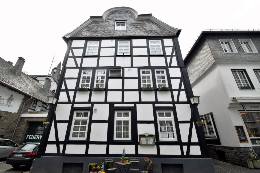 Monschau timber houses