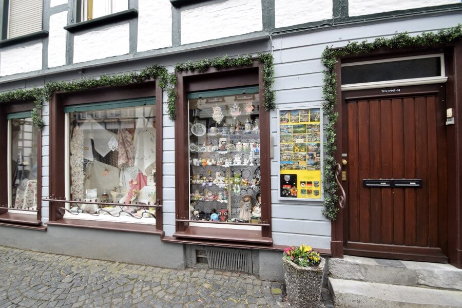 Traditional Shops in Monschau