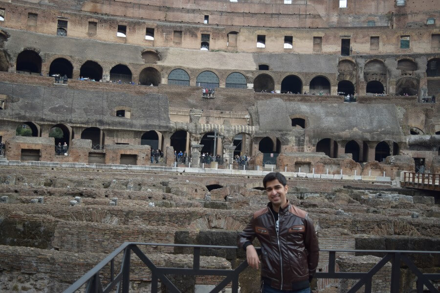 Colosseum landmark of Rome