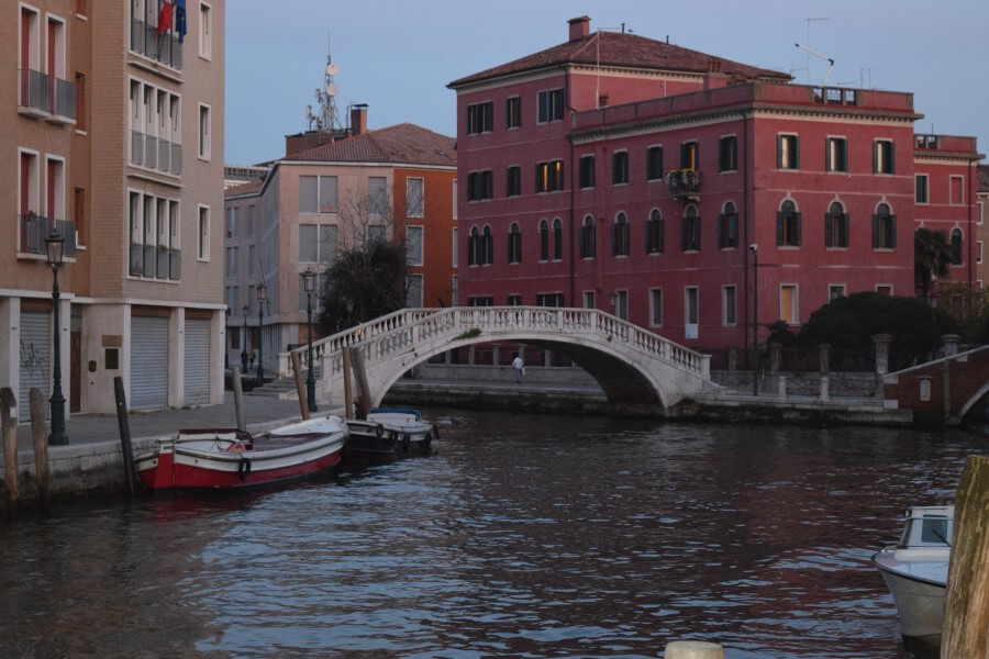 Dramatic bridges in Venice
