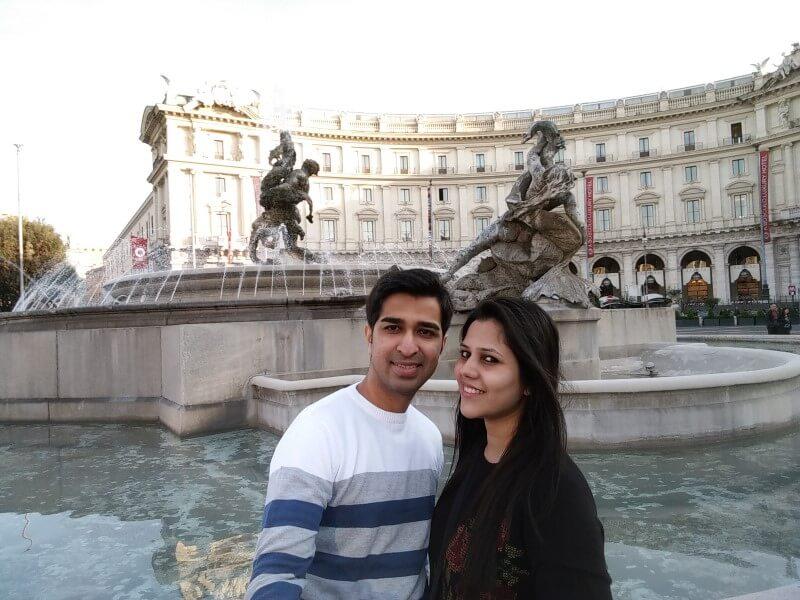 Piazza della repubblica rome