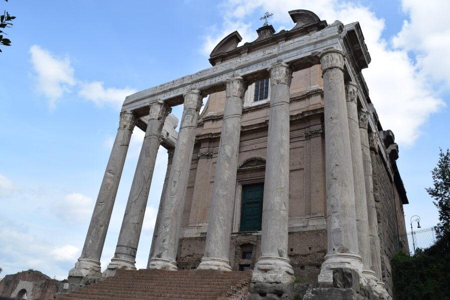 Roman Forum pillars