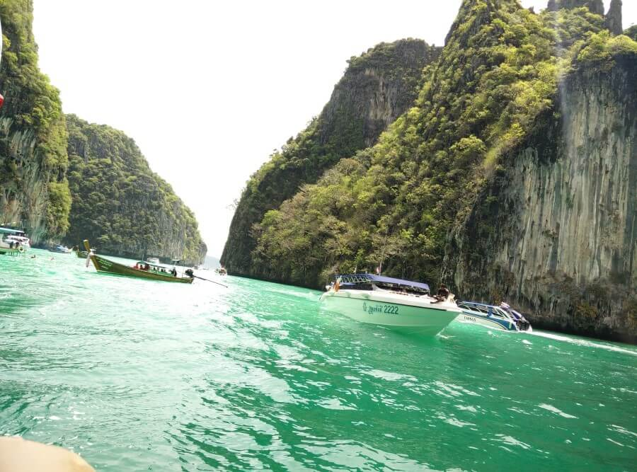 Speed boat tour Krabi Island