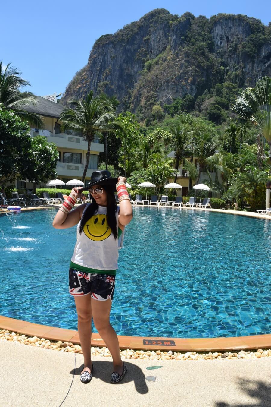 Sunny day at Krabi