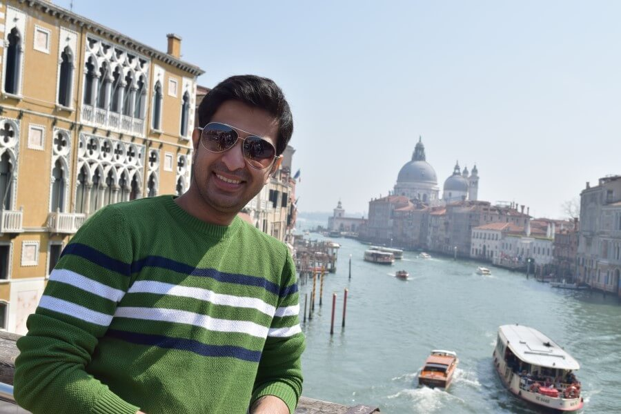 picture with grand canal view