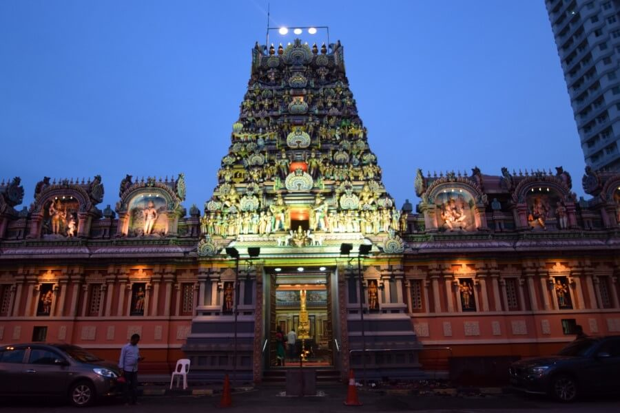 Brickfields India Town South Indian temple