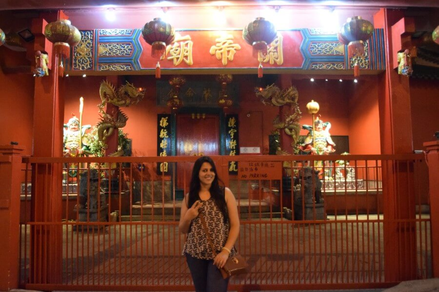 Chinatown Jalan Petaling chinese shrine