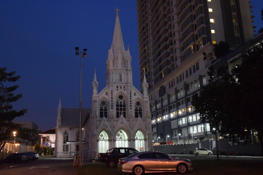 Hope City Church in Kuala Lumpur
