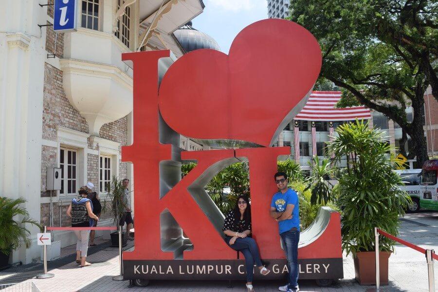 I Love Kuala Lumpur  Merdeka