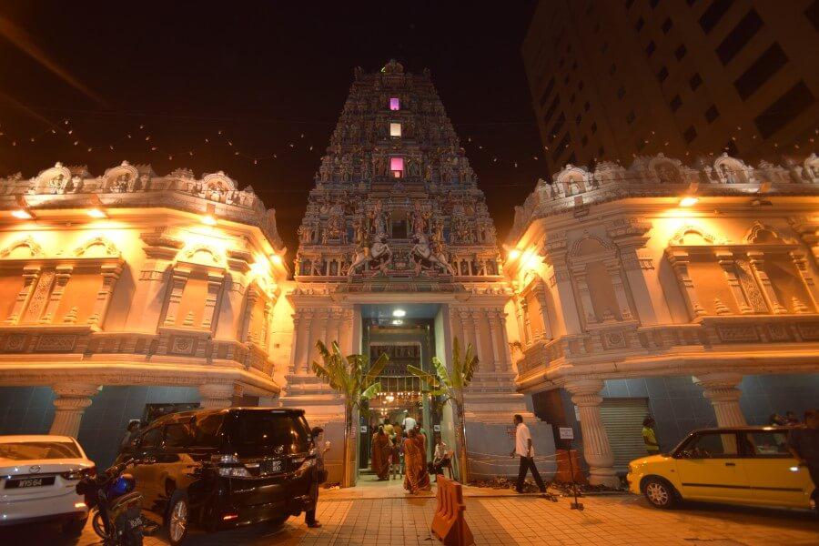 Indian temple in Kuala Lumpur