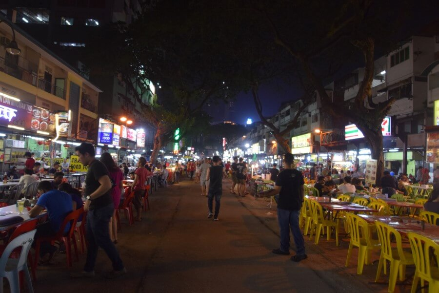 Jalan Alor Bukit Bintang Night food street
