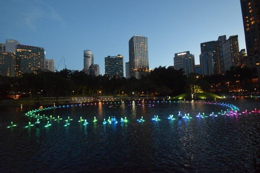 Kuala Lumpur in night