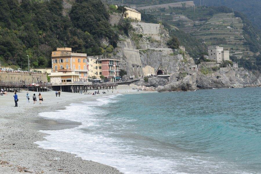 Monterosso al Mare warm beach