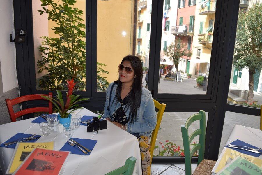 Riomaggiore restaurant