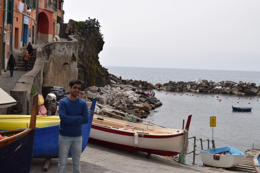 Riomaggiore water facing