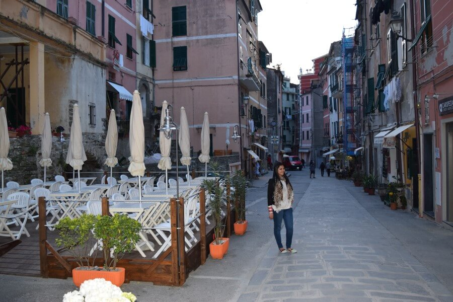 Vernazza village streets