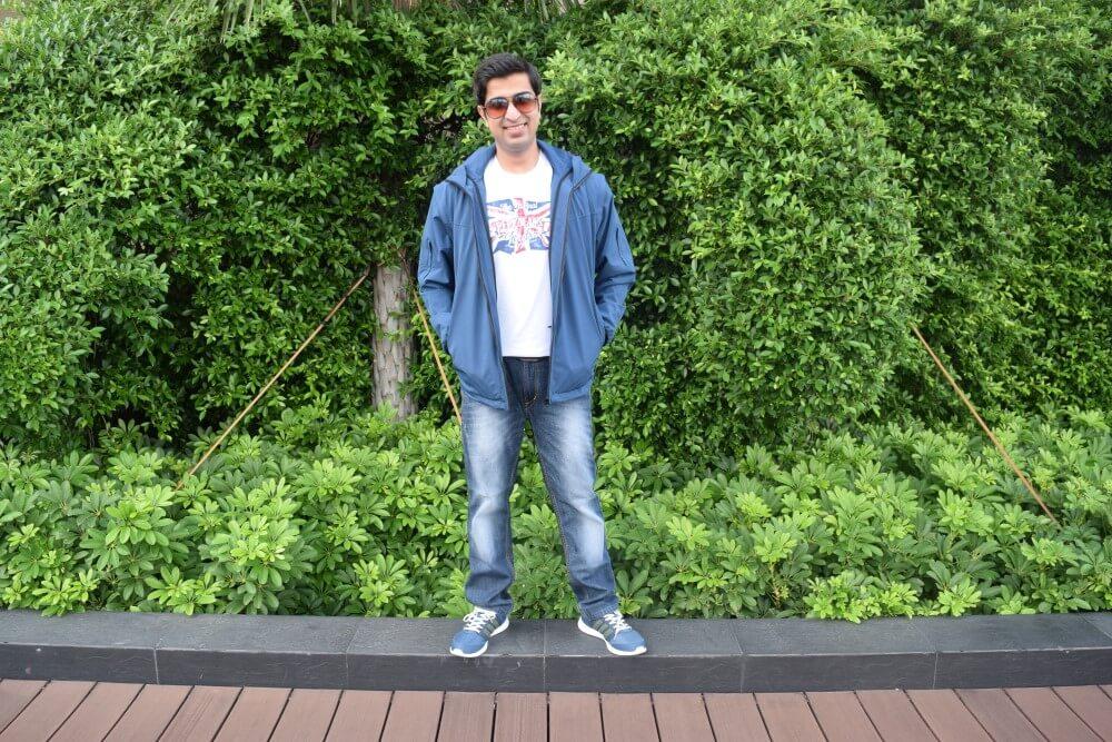 travel jacket male