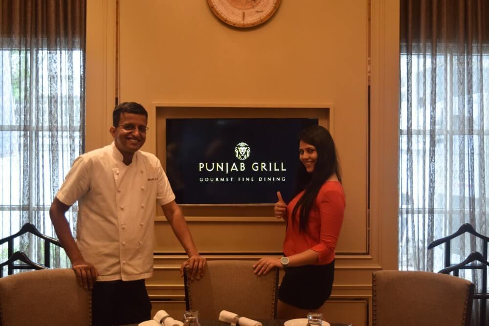 punjab grill bankok restaurant chef bharath bhatt