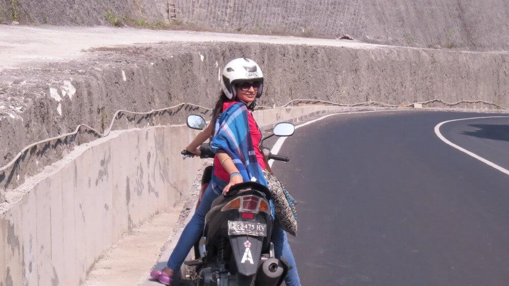 traveling professor bike ride