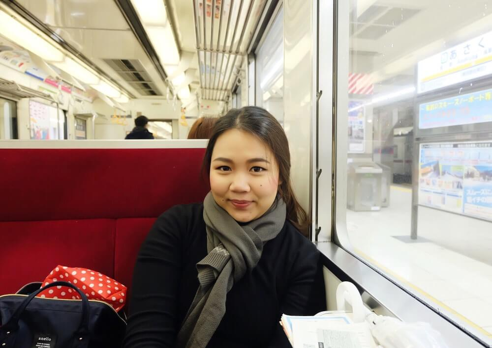 female traveler Travelling japan travelpeppy