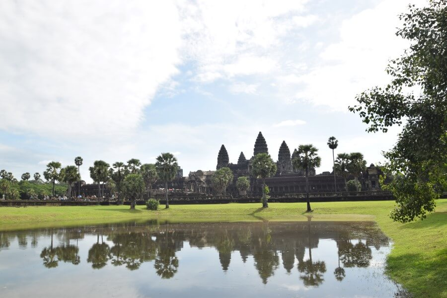 khmer temple at angkor