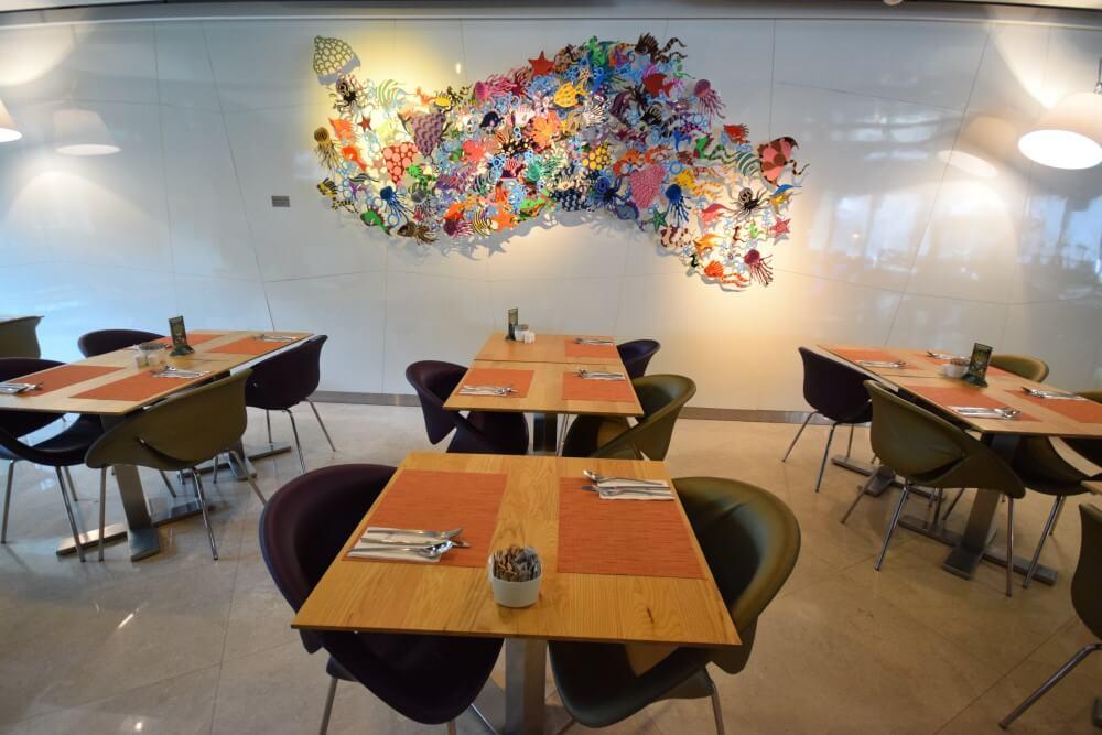 Caprilicious dining area