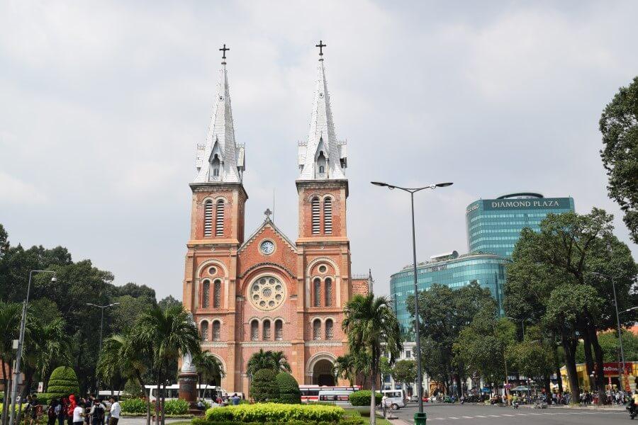 saigon notre dame cathedral vietnam