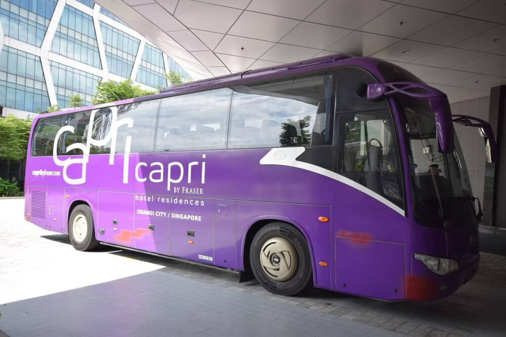 airport bus shuttle