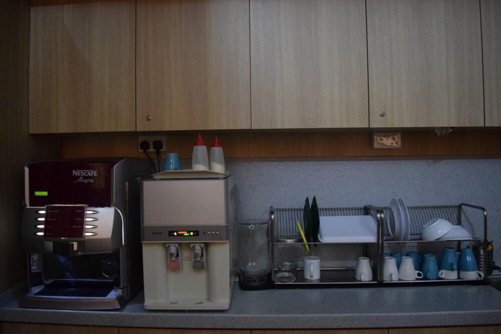 coffee and milk machine