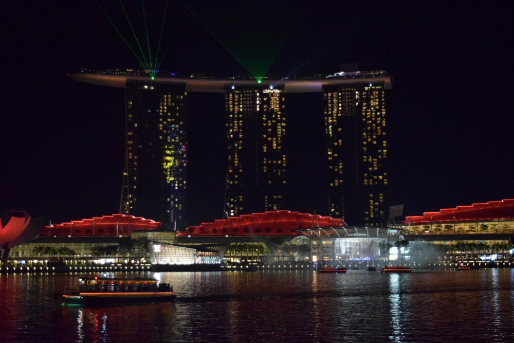 light show at marina bay