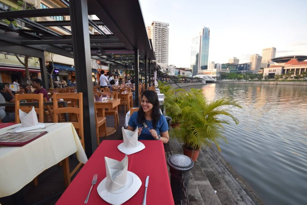 restaurants in boat quay