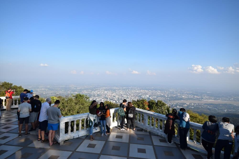 View from Wat Phra That Doi Suthep